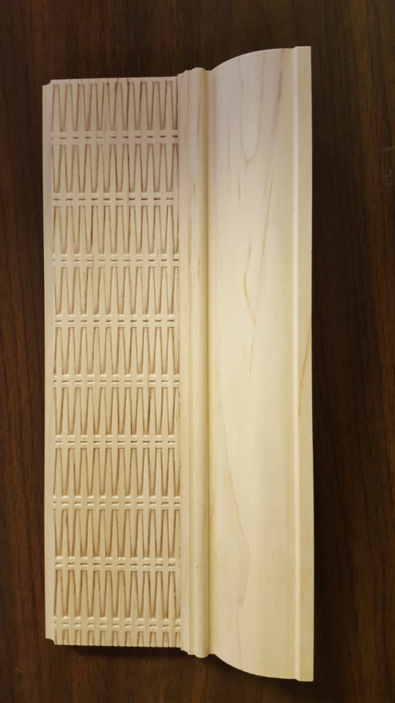 Embossed Textured Moldings