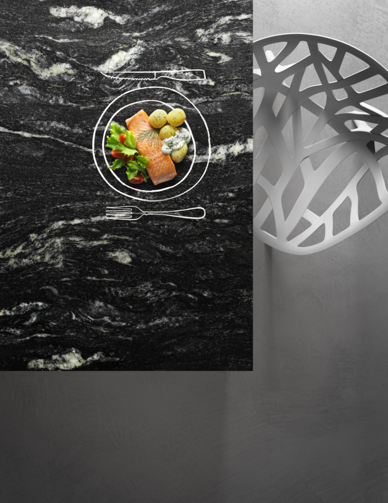 Black Cosmic Countertop