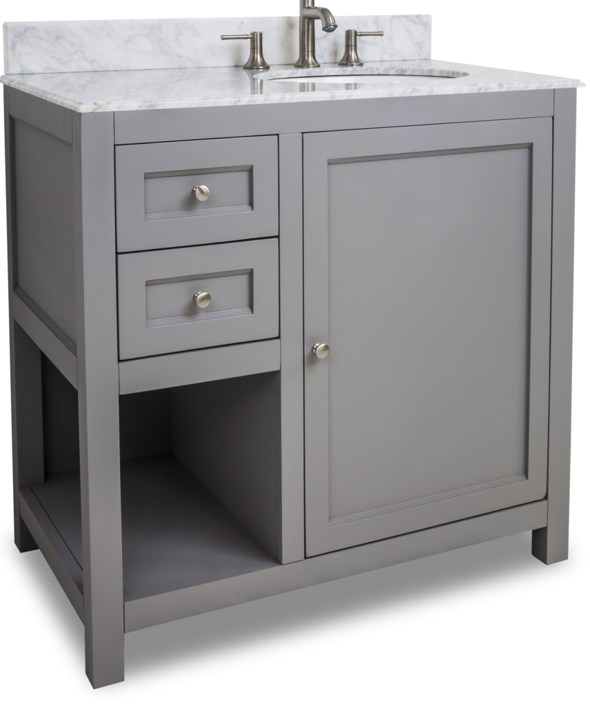 Grey Vanity Finishes