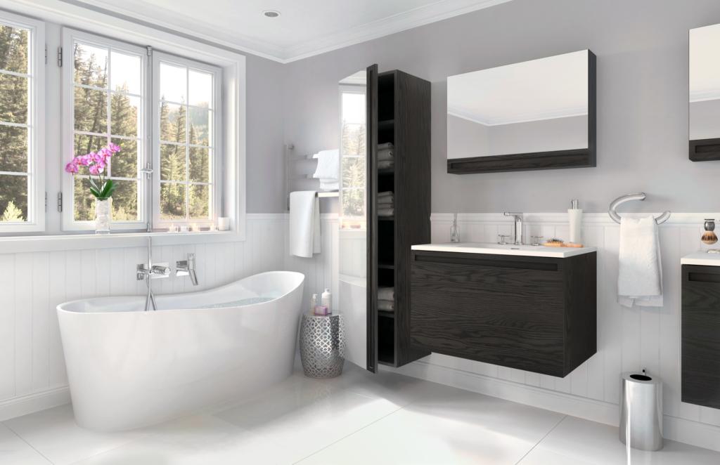 W2 Slim Profile Bath Furniture