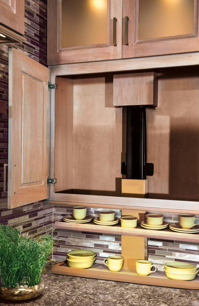 Cabinet Hidden Storage Lift