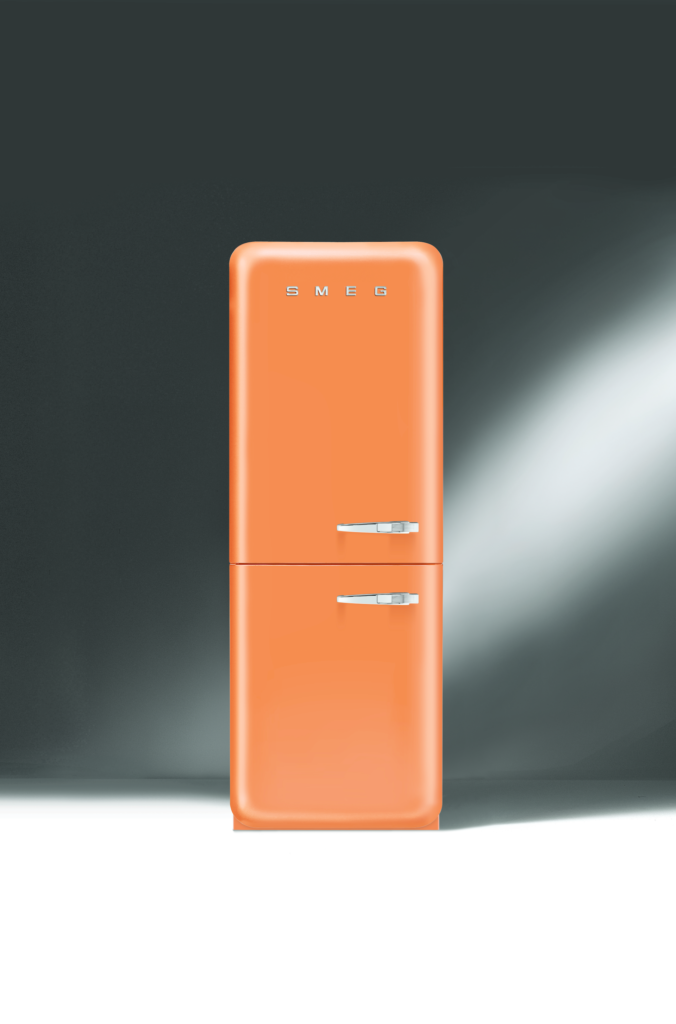 Orange FAB32 Refrigerator/Freezer