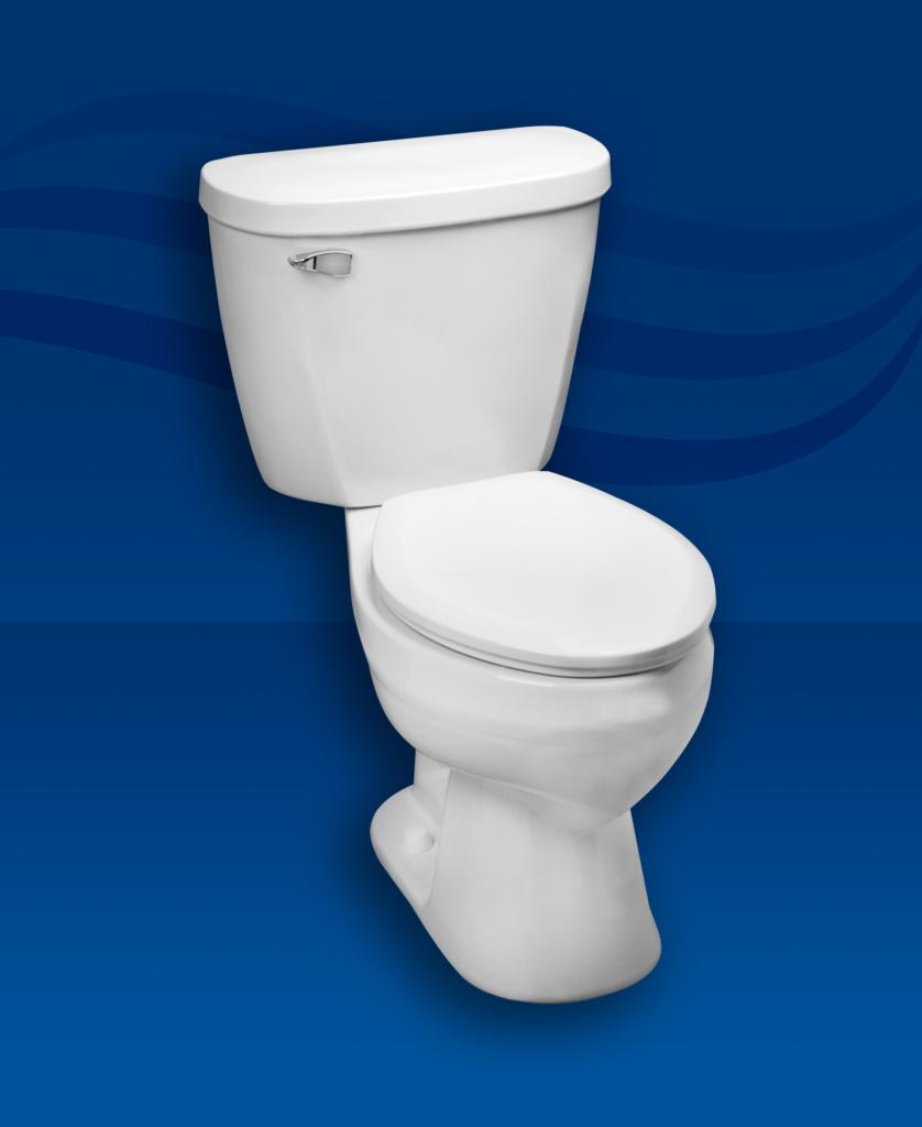 Toilet fit for retrofit applications
