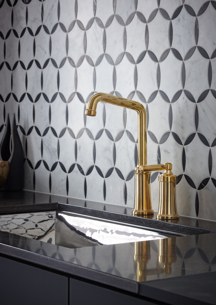 Unlacquered Brass Faucet Finish
