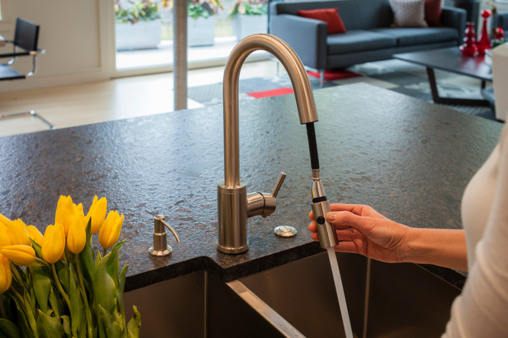 Snap Back Kitchen Faucets