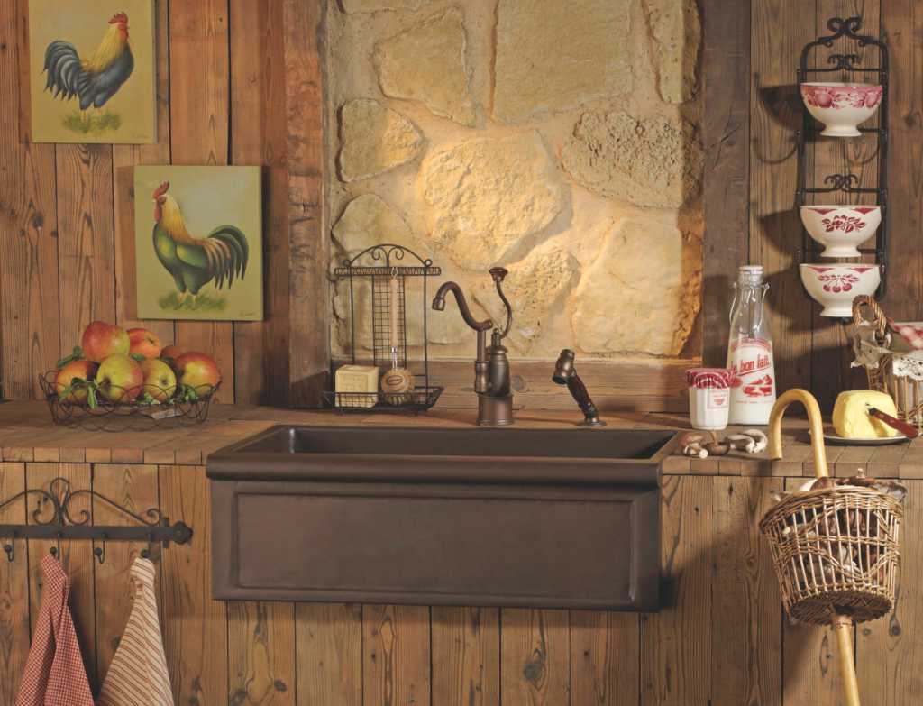 Vienne Copper Farmhouse Sink
