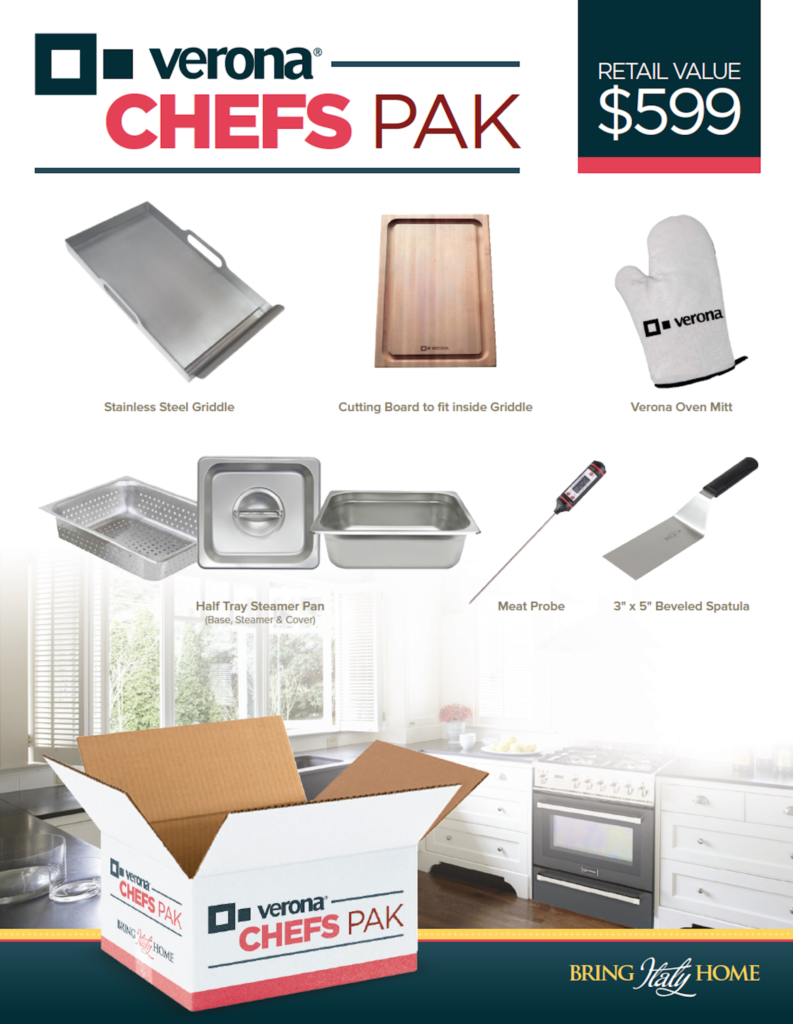 Chef's Pak Cooking Accessories