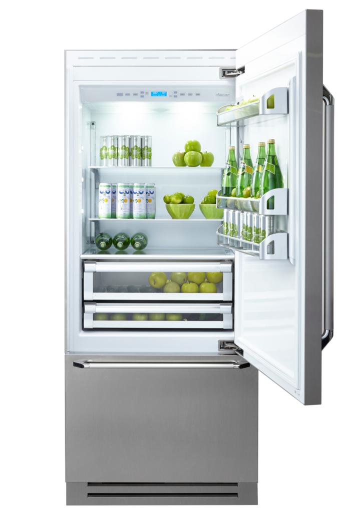 Fully integrated refrigerator