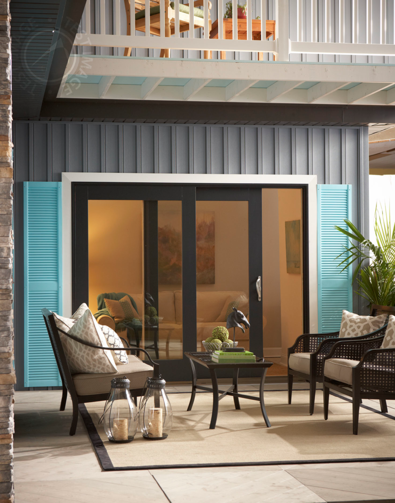 Impact-rated patio doors
