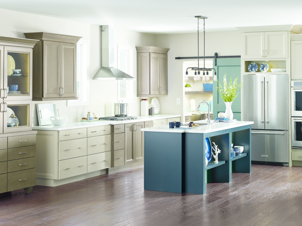 Complementary Cabinet Colors