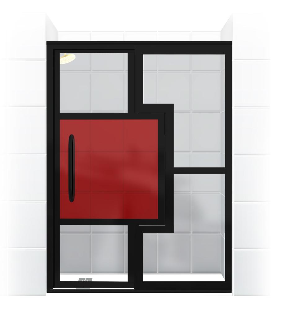 Mondrian Shower Door