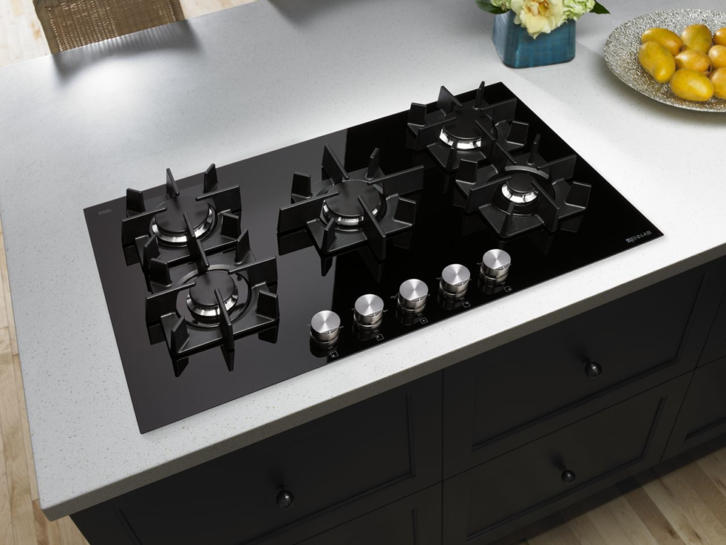 Glass Burner Gas Cooktop