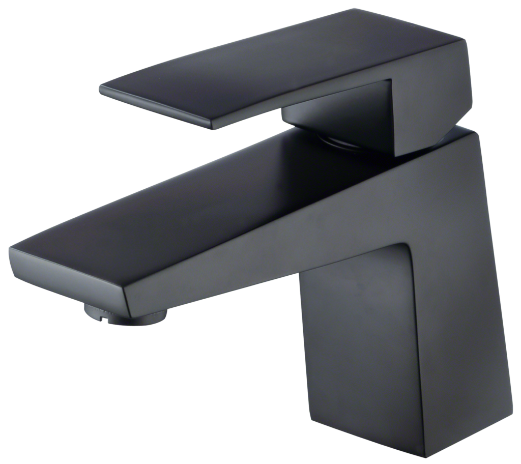 Satin Black Contemporary Faucets
