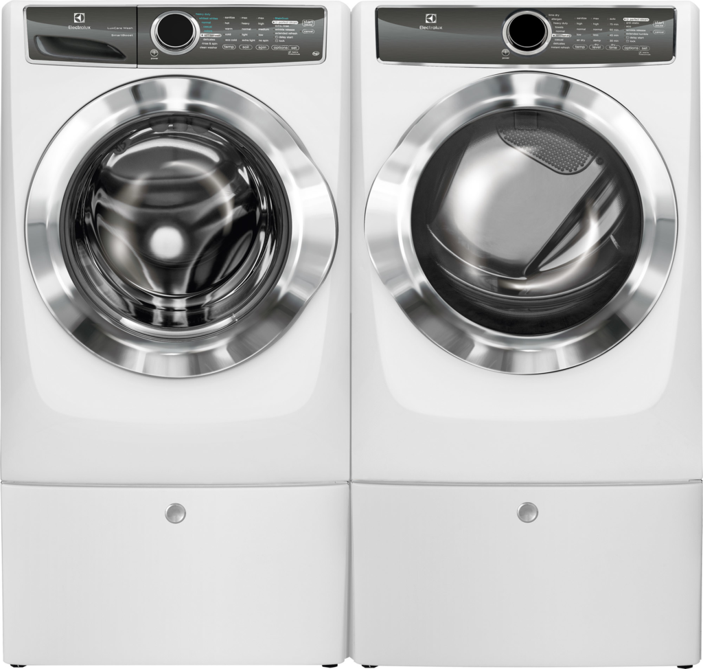 Washer, dryer focus on cleaning performance