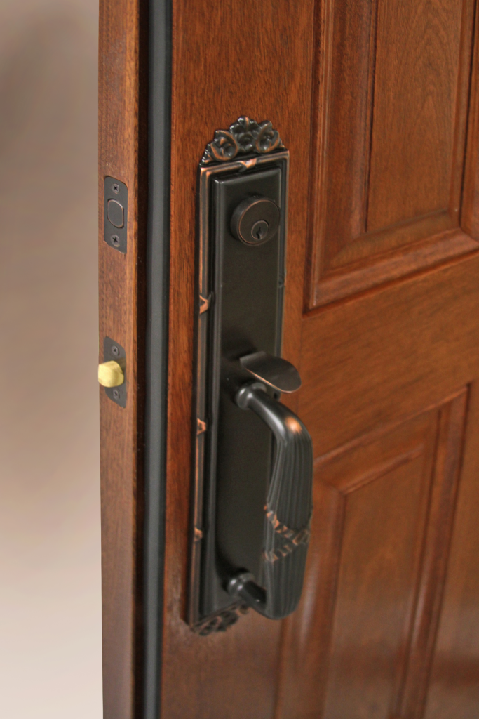 Fiberglass entry door available to all