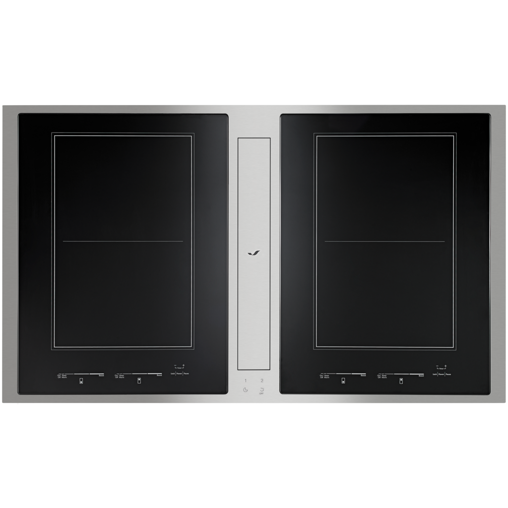 Combination Induction Cooktop & Downdraft Ventilation