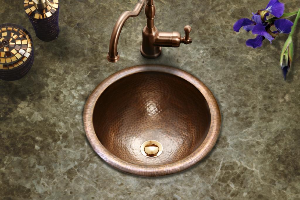 Hammerwerks Copper Lav Sink