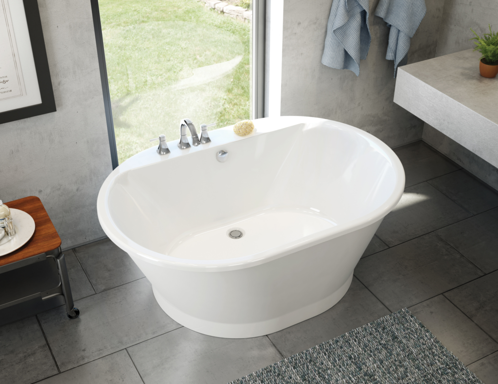 Bathtub part of professional collection