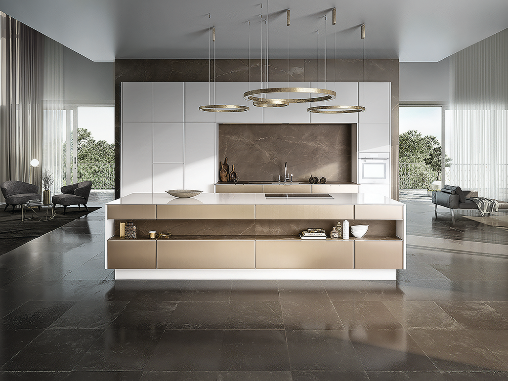 PURE Metal-Framed Cabinetry