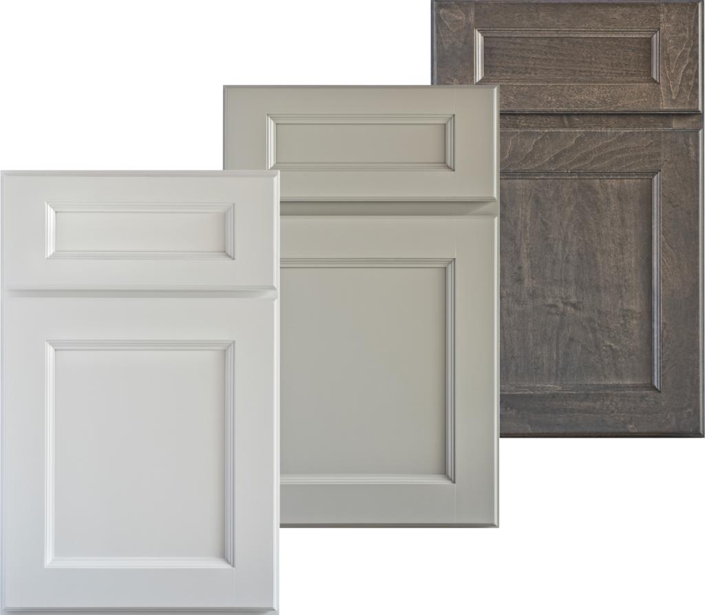 Gray Cabinet Tones