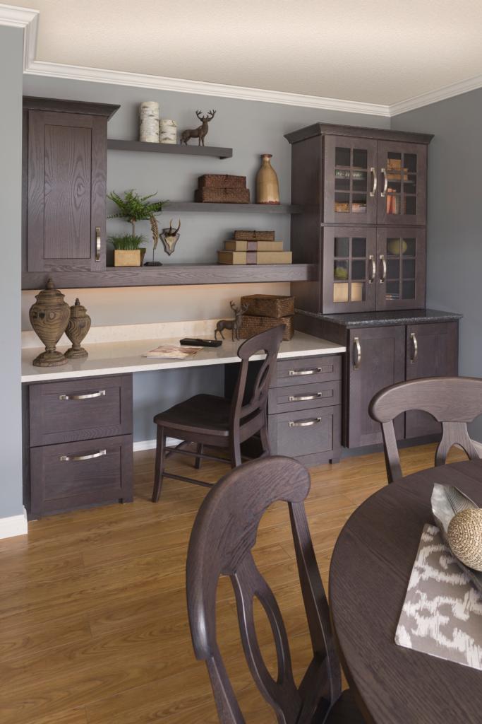 Contemporary Oak Cabinets