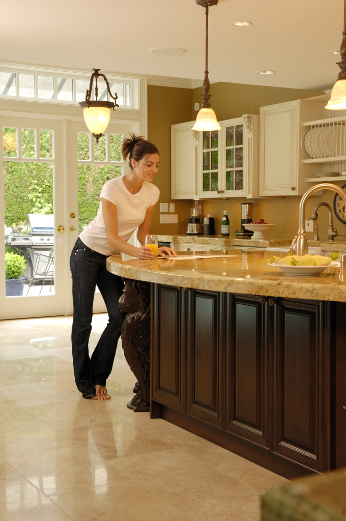 Electric Radiant Countertop Heating