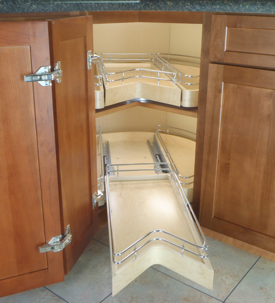 Corner Pull-Out Pantry