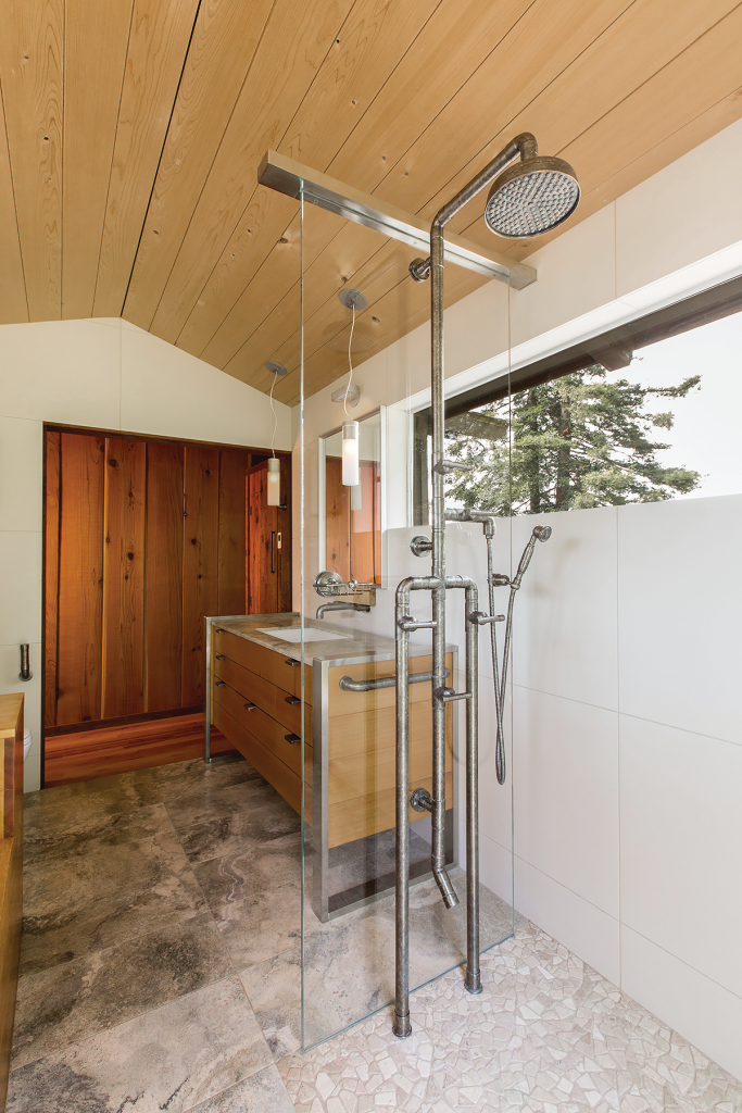 Exposed Shower System
