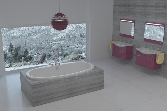 Snow Luxury Tub
