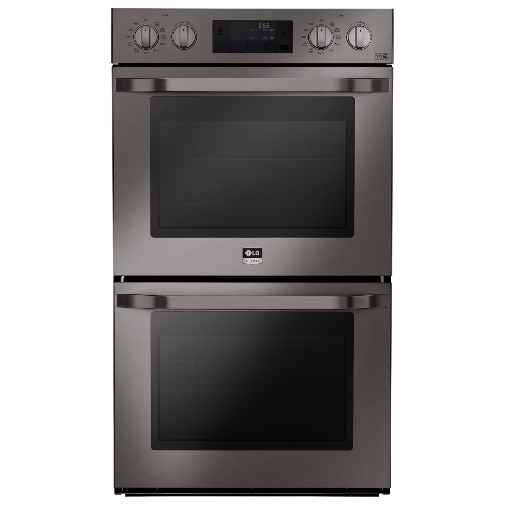 Black Stainless Wall Oven