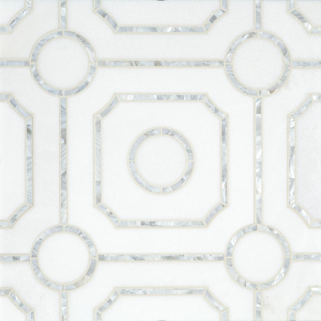 Geometric lines, symmetry dress up tile