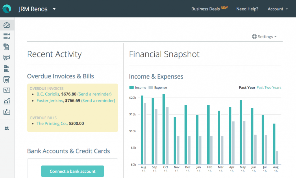 Cloud-based accounting software for small businesses