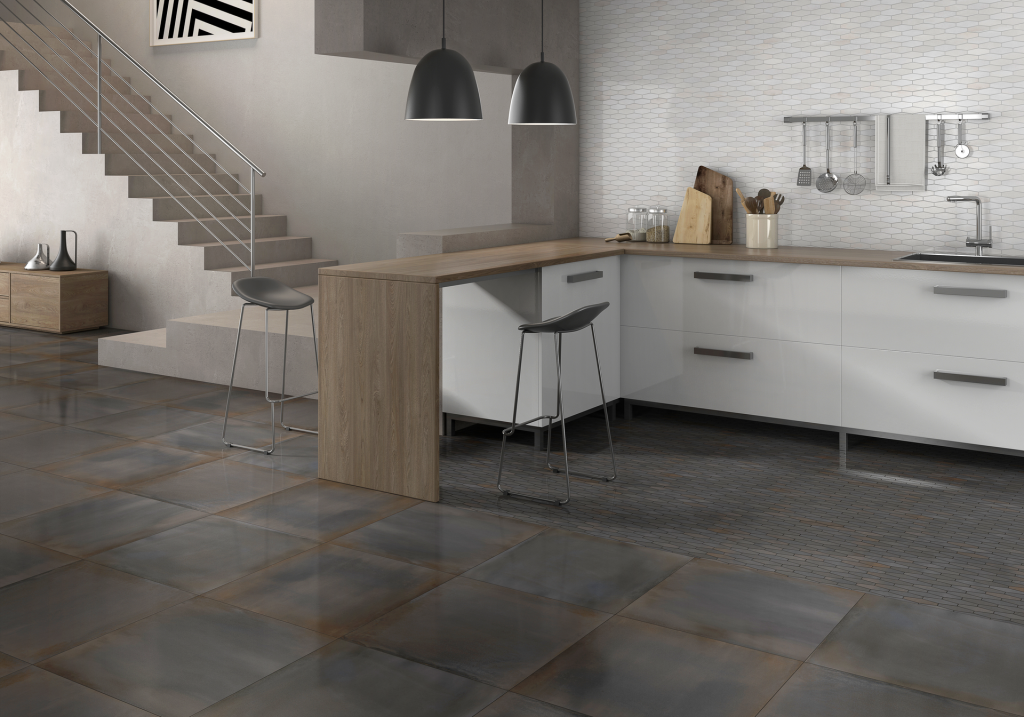 Cement Texture Inspired Tile