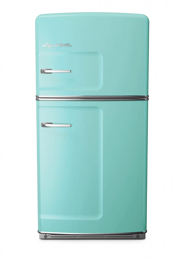 Turquoise Retro Refrigerator