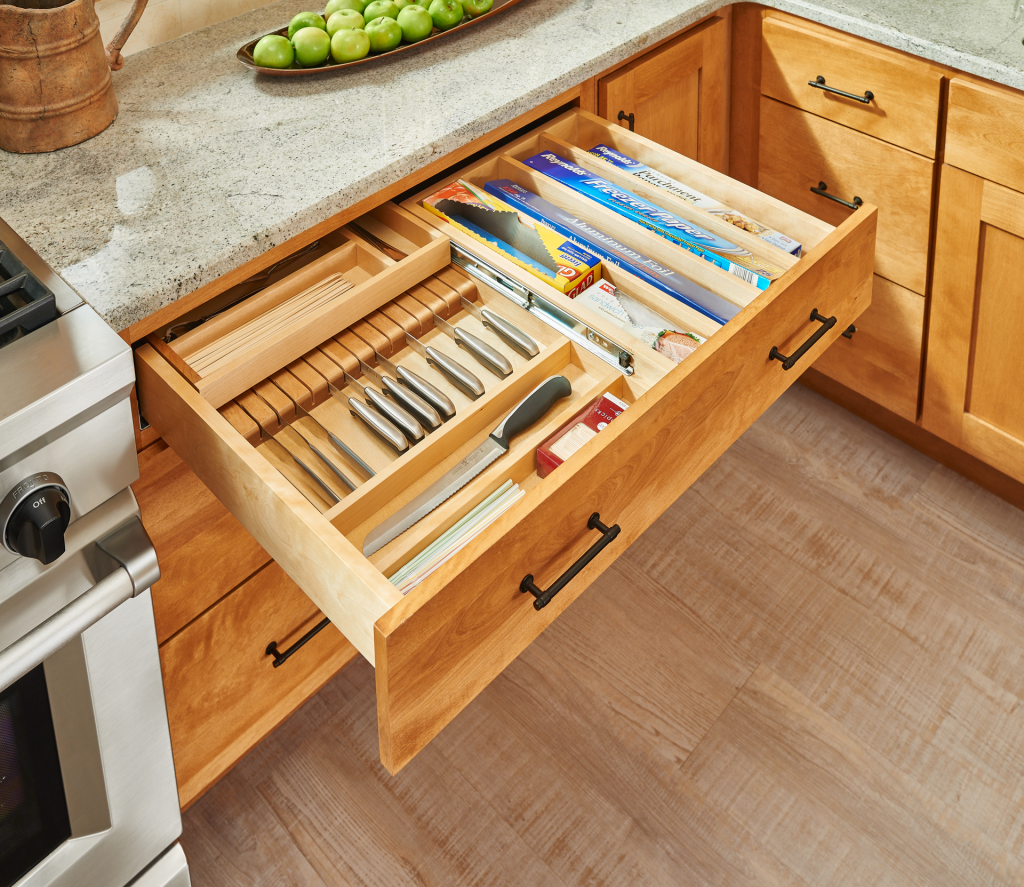 Tiered Combination Drawers