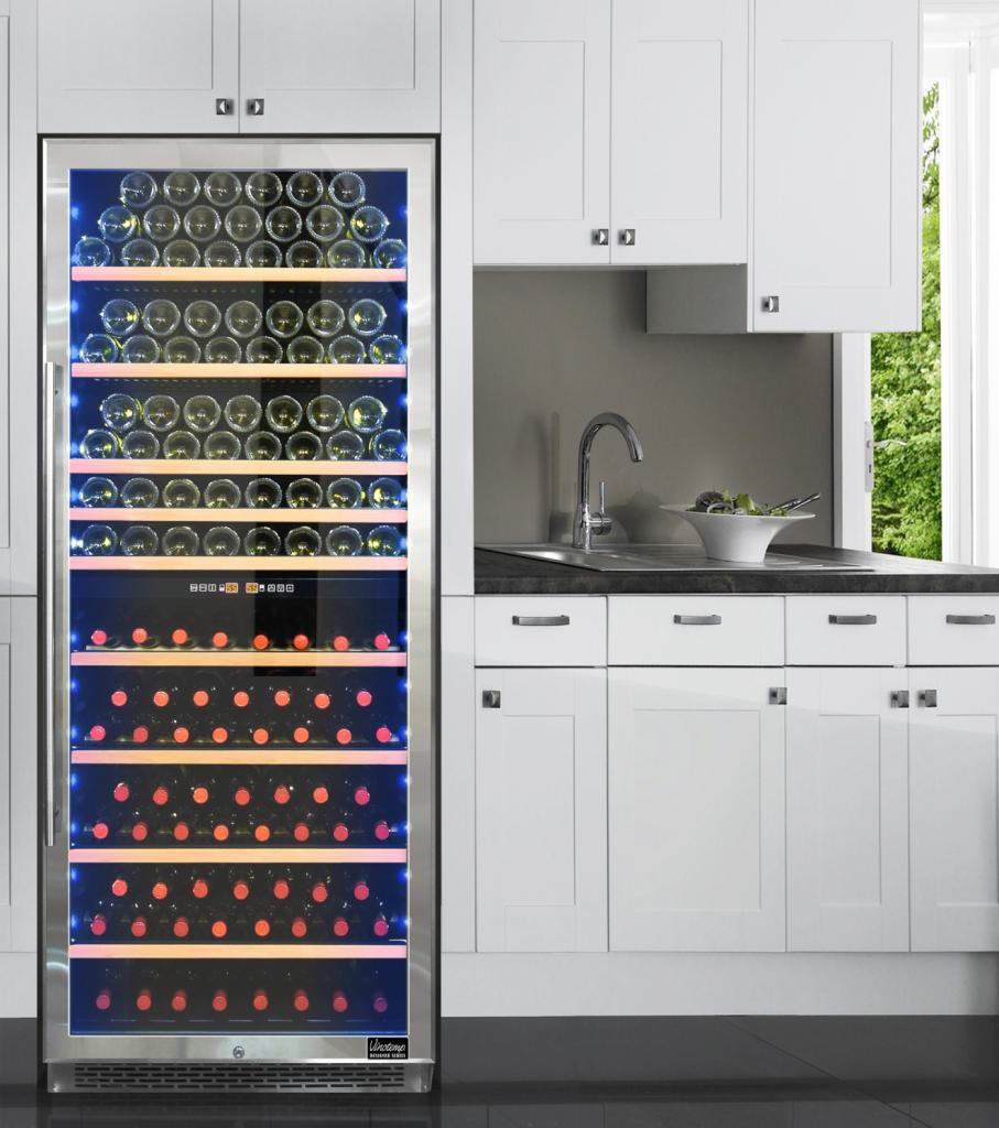 Dual-Zone 300-Bottle Wine Cooler