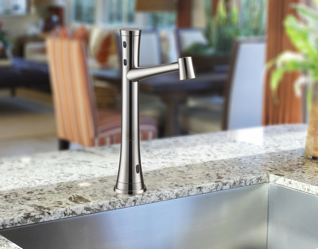 Touch-Free Kitchen Faucet
