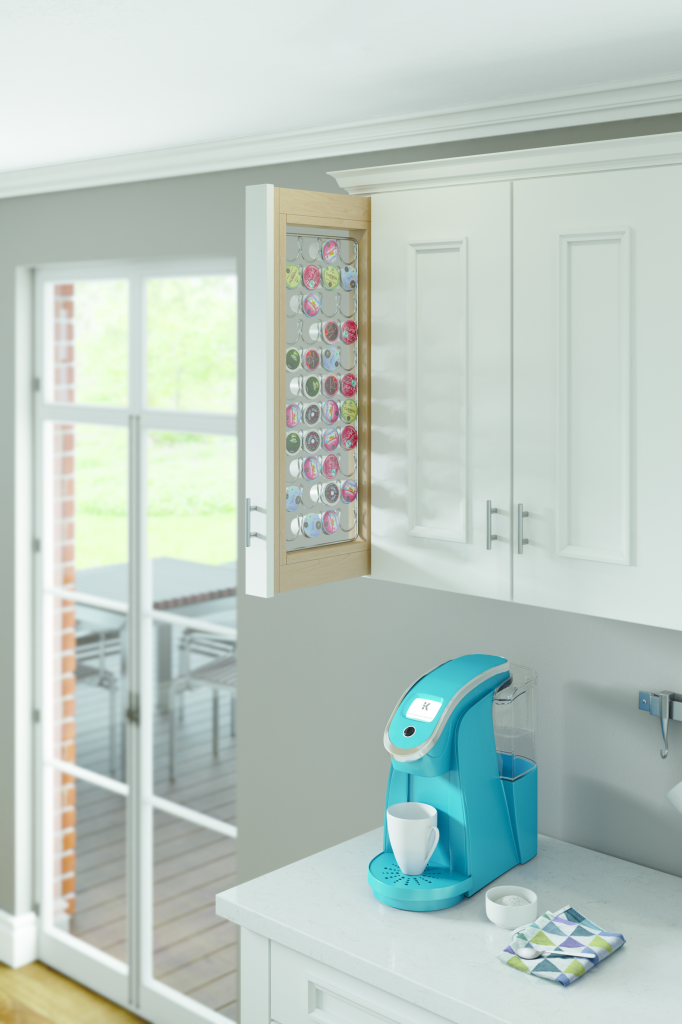 K-Cup Pullout Cabinet Storage
