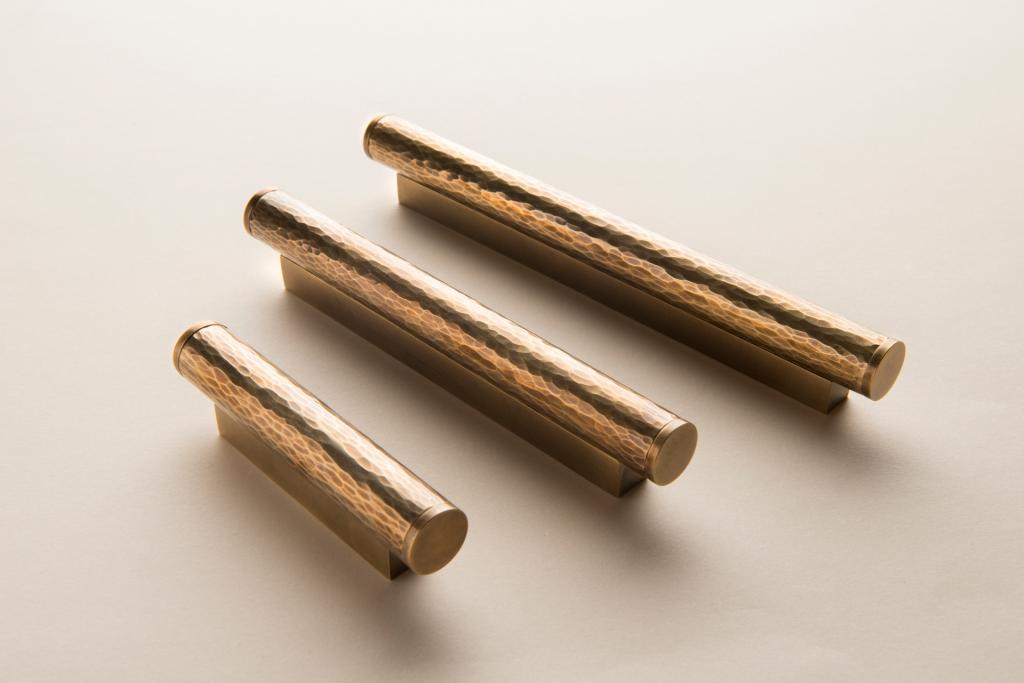 Hammered Metal Pulls