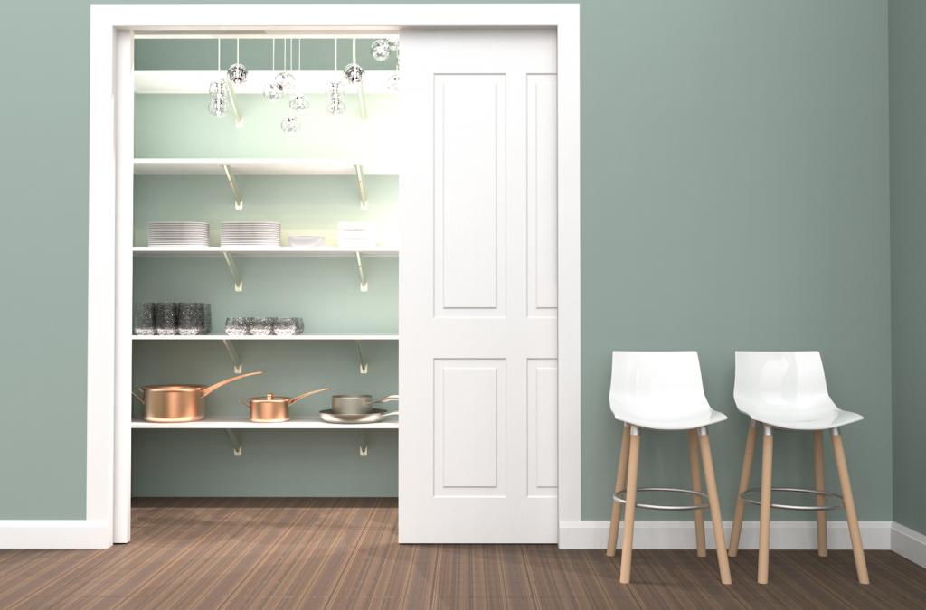 Shelf and Rod Closet System