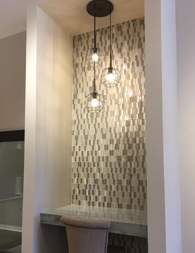 Mini Picket Glass Mosaics