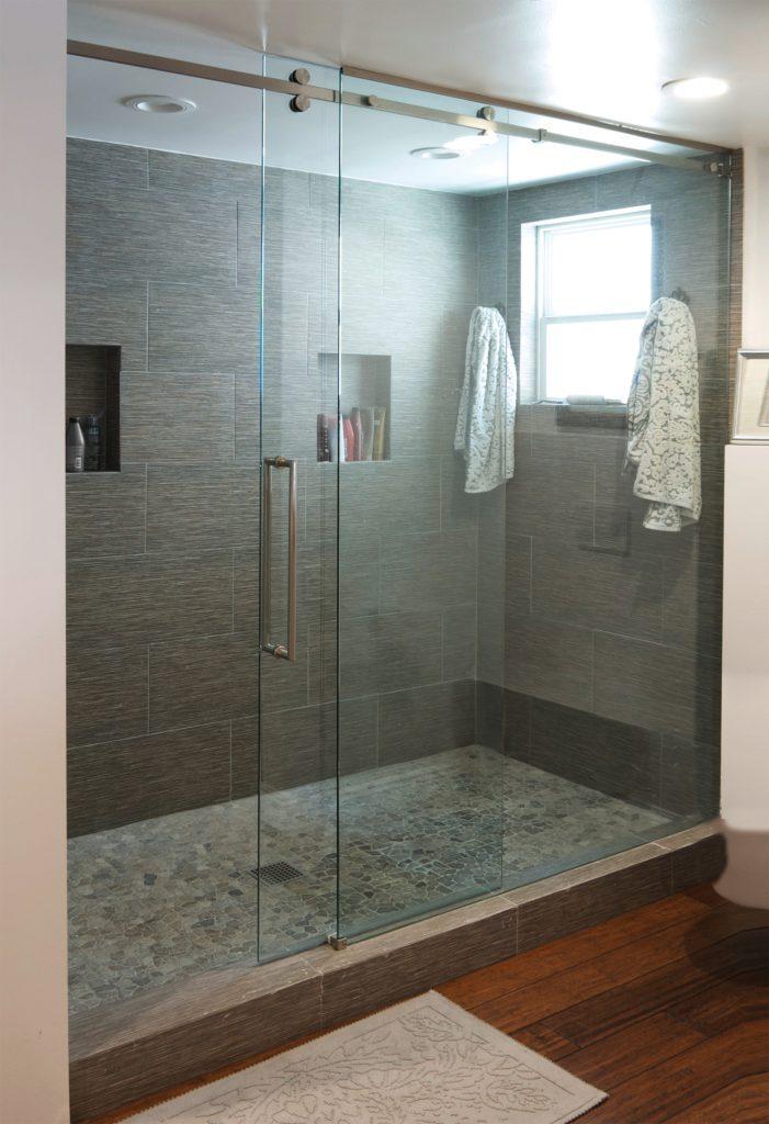 Senior Sliding Shower Door System