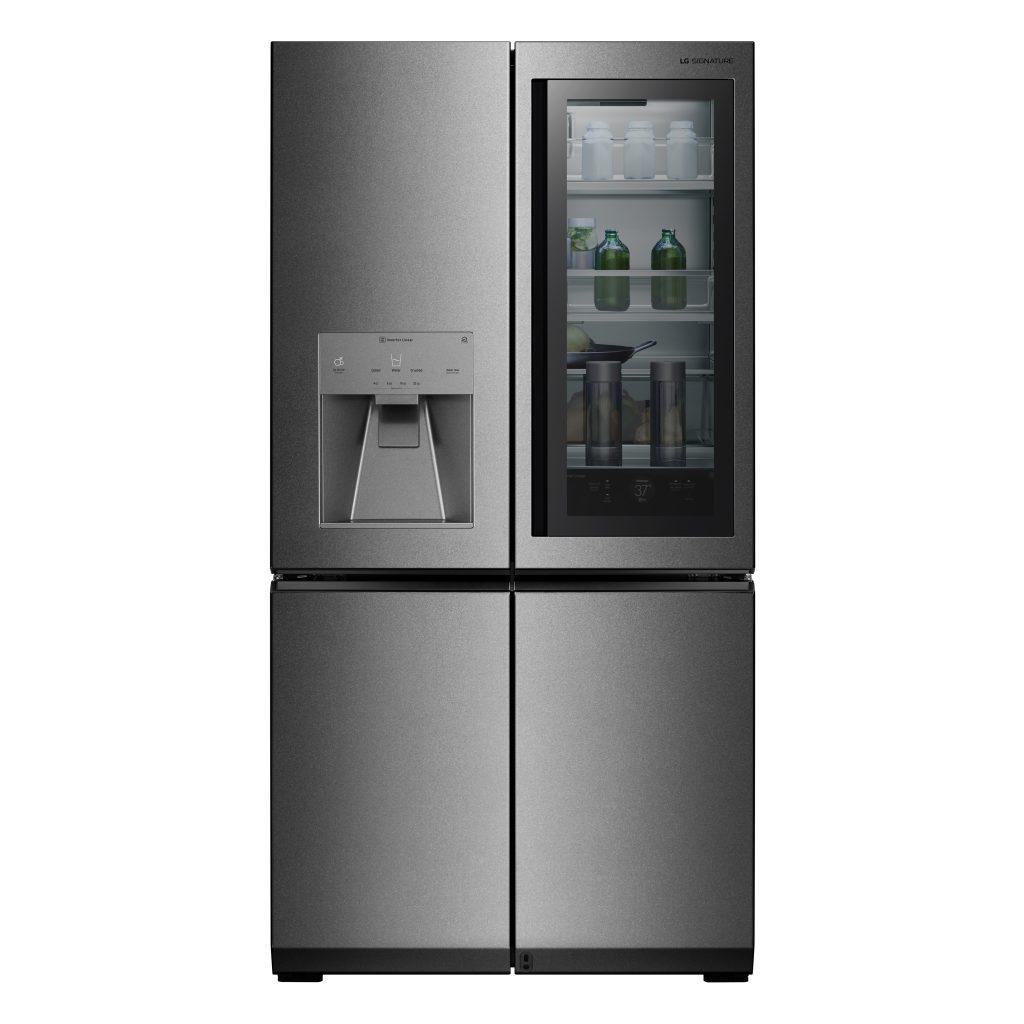 Glass-Front Door-in-Door Refrigerator