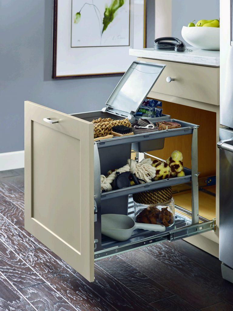 Base Bin Tray Pullout Cabinet