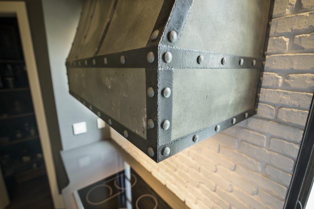 Custom Zinc Ventilation Hood