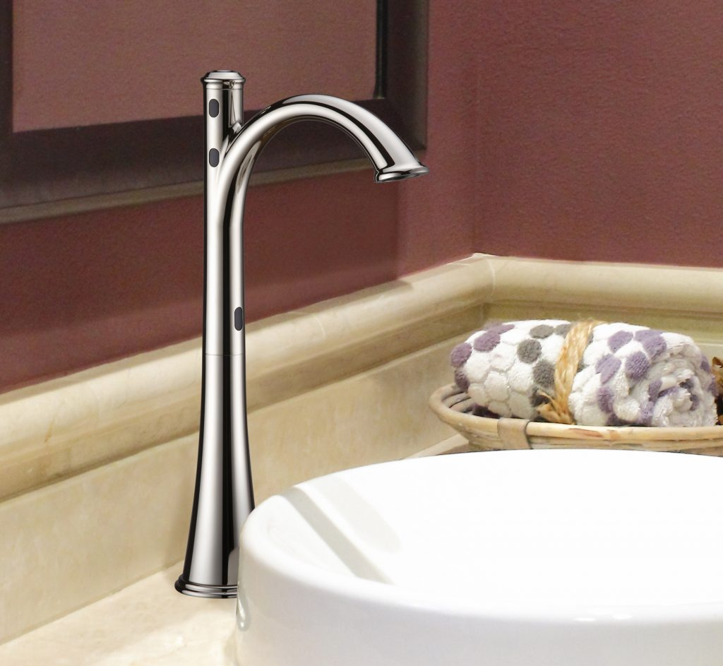 Hands-Free Vessel Faucet