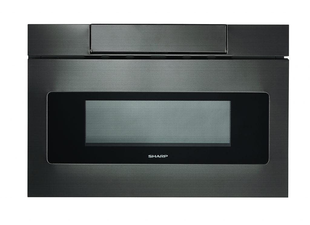 Black Stainless Microwave Drawer