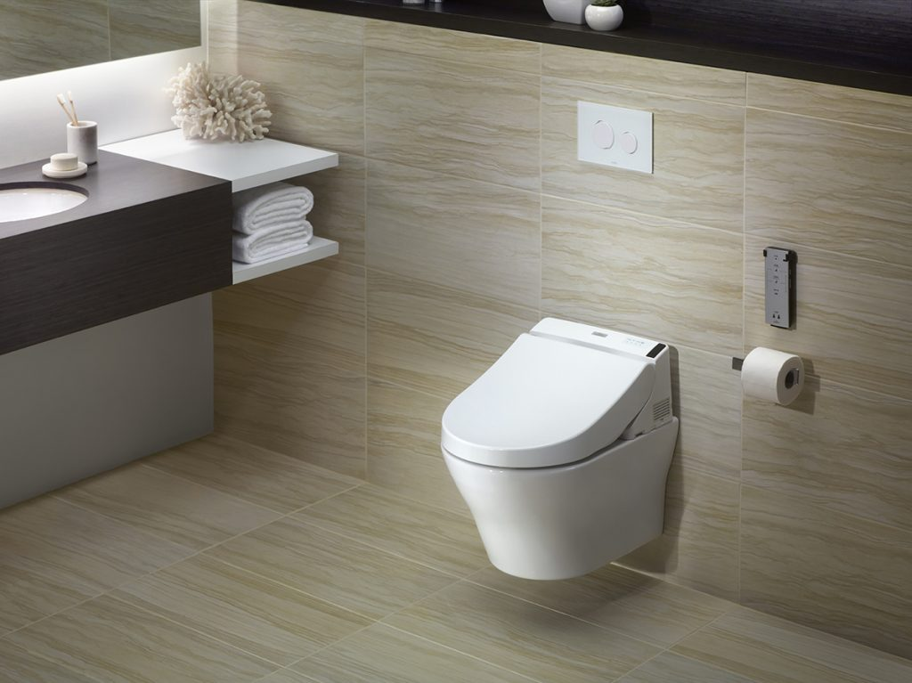 Wall-Mount Dual-Flush Toilet
