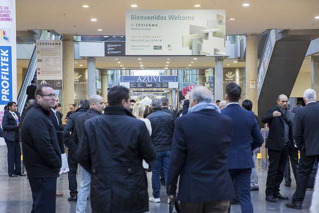 The Trends at Cevisama's Tile Show in Spain