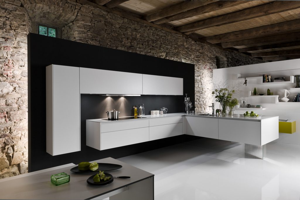 Furniture-Style Kitchen Cabinets